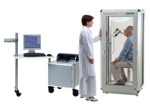 Спирометр с опцией бодиплетизмографии MasterScreen Body