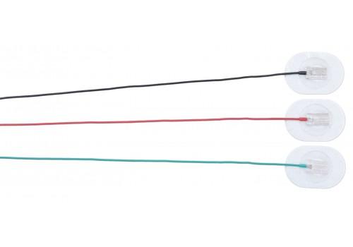 Электрод адгезивный дисковый, кабель 1,2м
